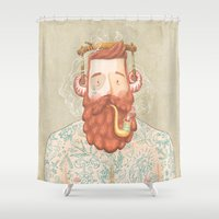 music Shower Curtains featuring Music by Seaside Spirit