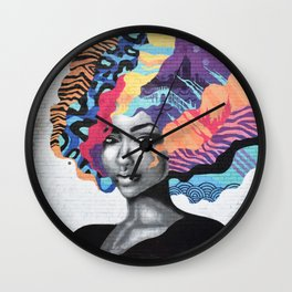 Love Is Color Wall Clock