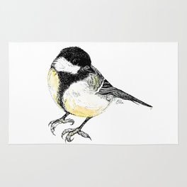 Great Tit Rug