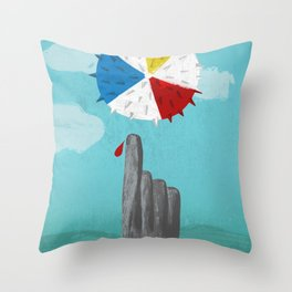 Cruel Summer Throw Pillow