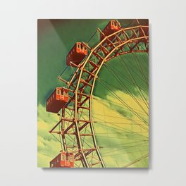 Pripyat Ferris Metal Print