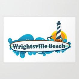 Wrightsville Beach - North Carolina. Art Print