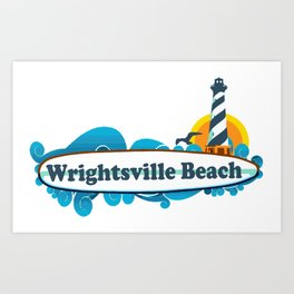 Wrightsville Beach - North Carolina. Art Print