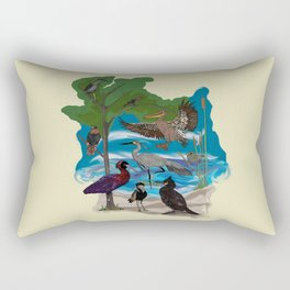 Some Birds Rectangular Pillow