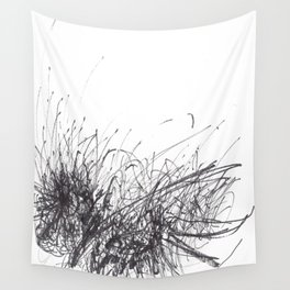 Sound of Longing (Intuitive Sound Scribble #3) Wall Tapestry