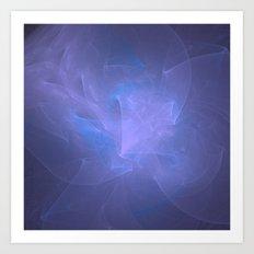 Ribbons of Lavender Art Print