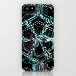 Caribbean in the Snow iPhone Case