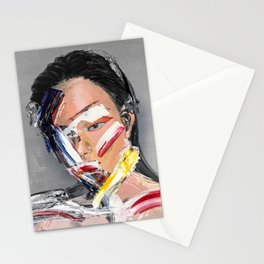 The Girl Never Know Stationery Cards