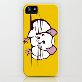 Fat mouse iPhone Case