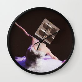 Prima Ballerina · Spitzenklasse Wall Clock