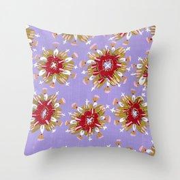 Christie Rose Throw Pillow