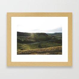 The Road to Landmannalaugar Framed Art Print