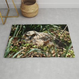 Brave in a new world Rug