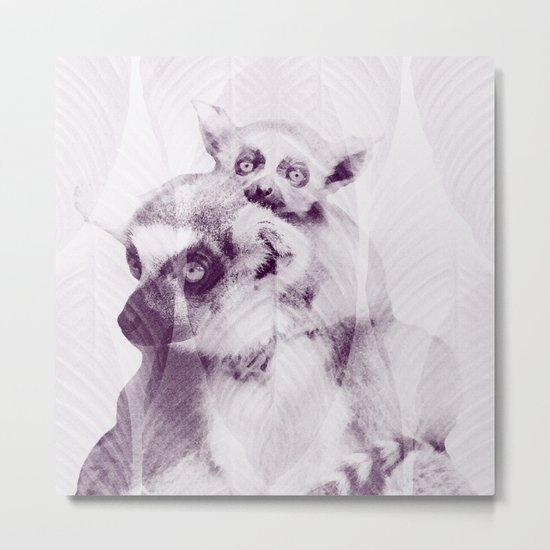 Happy Mother's Day - Lemur - maki catta Metal Print