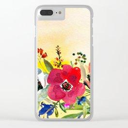 Flowers bouquet #44 Clear iPhone Case