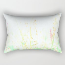 Pastel Flowers 2 Rectangular Pillow