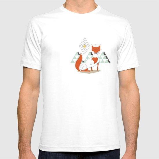 Fox in the mountain T-shirt