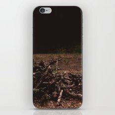 wooden soul iPhone & iPod Skin