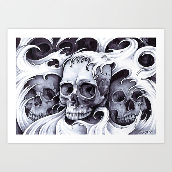 The Desolation Path Art Print