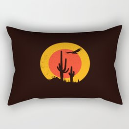 Death Valley (vulture song) Rectangular Pillow