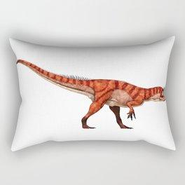 Allosaurus in Profile Rectangular Pillow