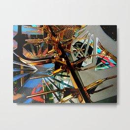 Finer spaces Metal Print