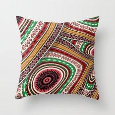 Tribal adventure Throw Pillow