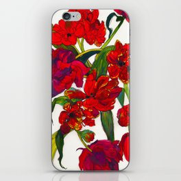 Inky Tulips iPhone Skin