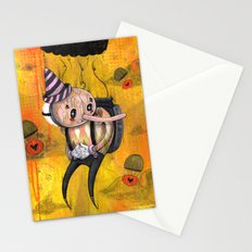 No Strings Attached Print~! Stationery Cards