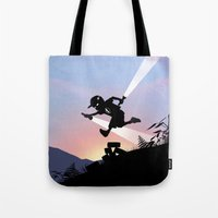 Flash Kid Tote Bag
