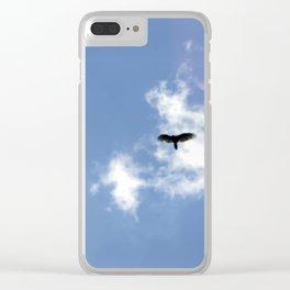 Bird in the Sky Clear iPhone Case