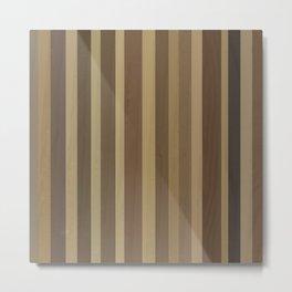 Wooden Planks Metal Print