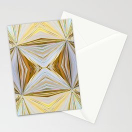 350 - Abstract Palm Fronds Design Stationery Cards