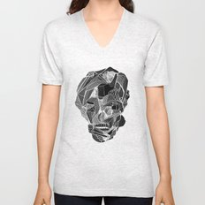 Death gives no reason Unisex V-Neck