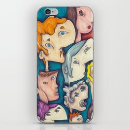 ten people iPhone Skin