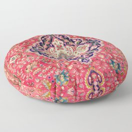 Tabriz Antique Persian Rug Print Floor Pillow