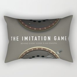 The Imitation Game - Alternative Movie Poster Rectangular Pillow