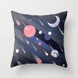 Funny Universe Throw Pillow