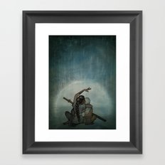 Avatar: Thought Chakra Framed Art Print