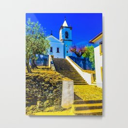 Stairs of faith Metal Print