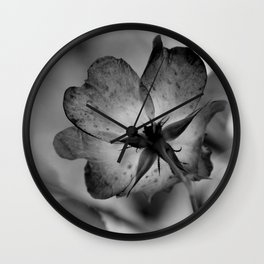 Delicate transparency Wall Clock