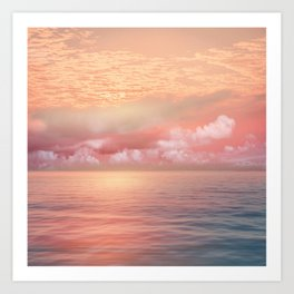 Pastel vibes 55 Art Print