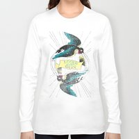 swallow Long Sleeve T-shirts featuring Swallow by Chiara Sgatti