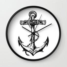 The Anchor Wall Clock