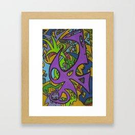 The Vortex Framed Art Print