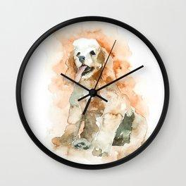 dog#23 Wall Clock