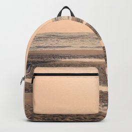 Running on the Edge of the Ocean Backpack