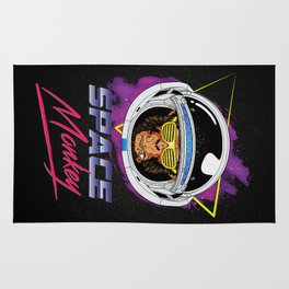 Space Monkey 1980s Rug