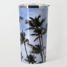 Palm Trees in Aruba Travel Mug