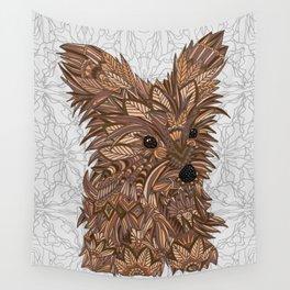 Cute Yorkie Wall Tapestry